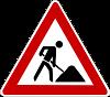 Zeichen 123 - Baustelle (groß)